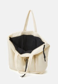 Topshop - TOGGLE RUCHED TOTE - Cabas - stone - 2