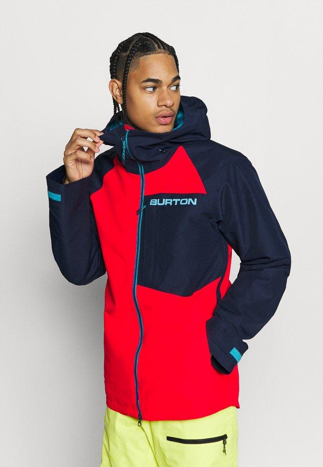 GORE RDIAL - Snowboardová bunda - blue