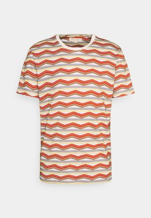 PACIFIC STRIPE - Print T-shirt - white multi
