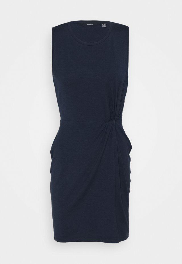 VMKIANA SHORT DRESS TALL - Sukienka z dżerseju - navy blazer