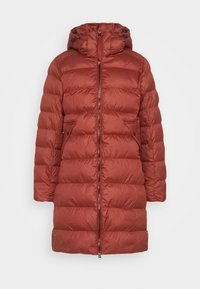 WHISTLER SLIM LONG COAT - Winter coat - dry red