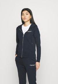Armani Exchange - FELPA - Zip-up hoodie - navy - 0