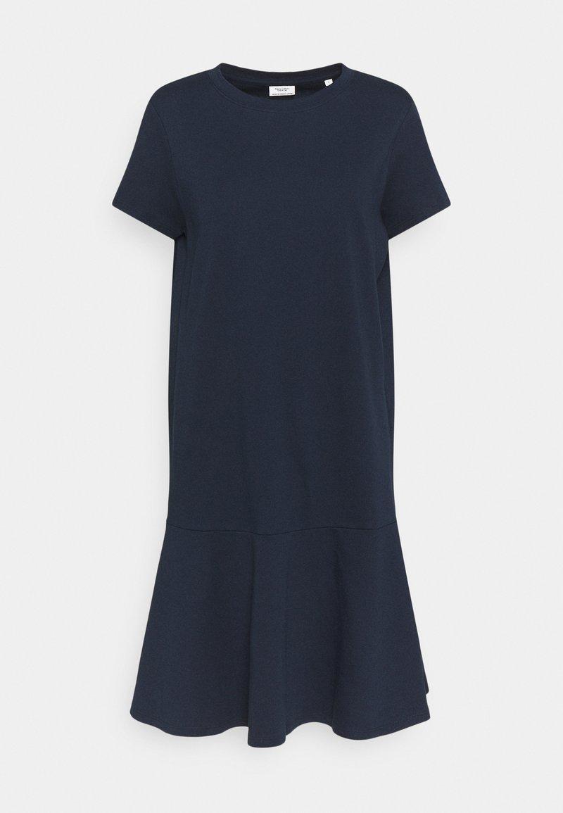 Marc O'Polo DENIM - PEPLUM DRESS - Jersey dress - scandinavian blue