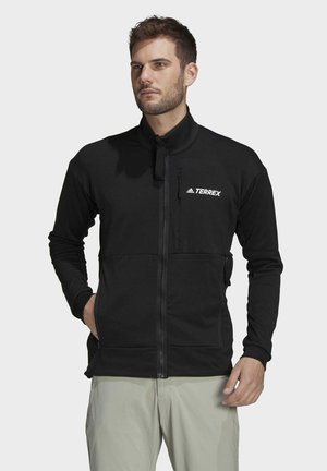TERREX TECH FLEECE HIKING JACKET - Fleece jacket - black