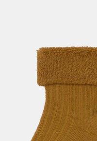 Ewers - 4 PACK - Socks - grey/mustard yellow - 3