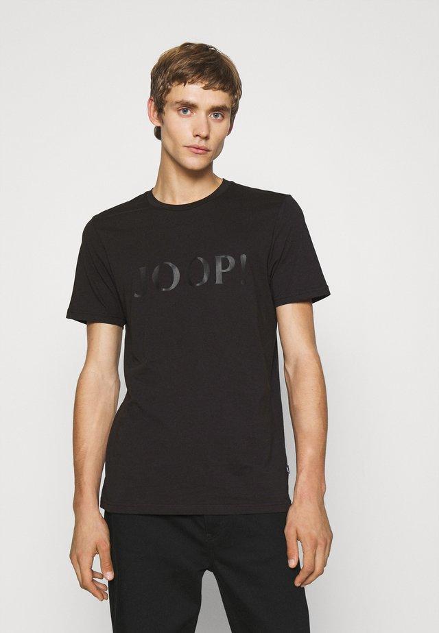 ALERIO - Print T-shirt - black