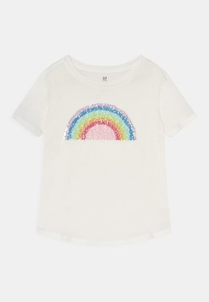 GIRLS INTERACTIVE - Print T-shirt - new off white