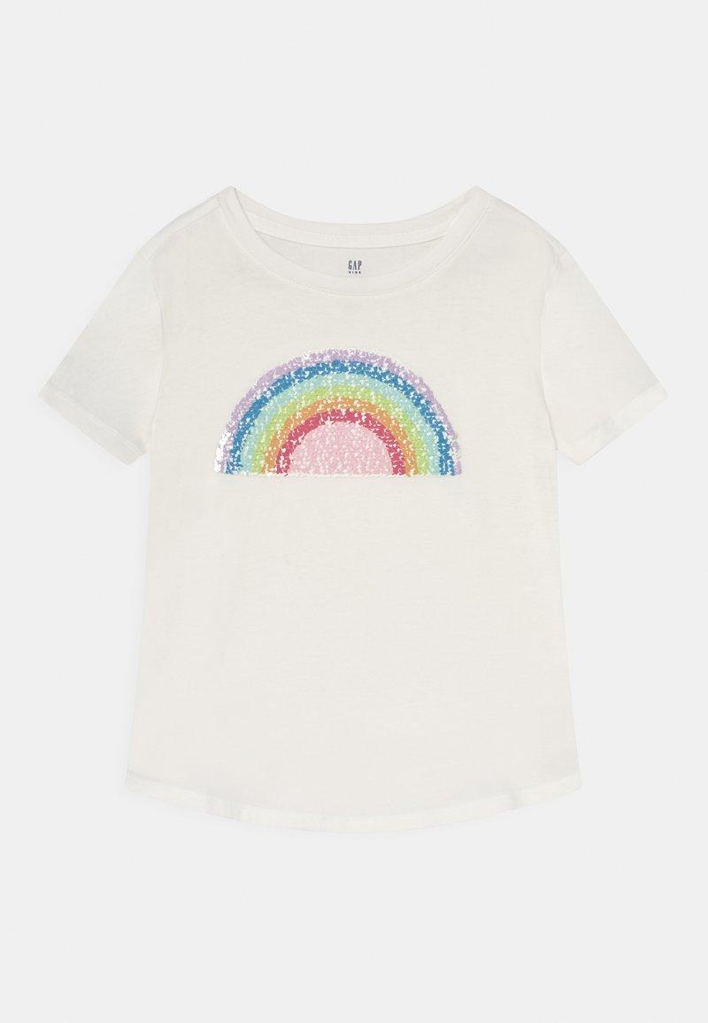 GAP - GIRLS INTERACTIVE - Print T-shirt - new off white