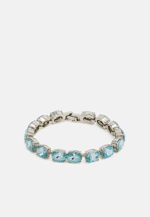 PCLAMA BRACELET - Armbånd - silver-coloured/blue