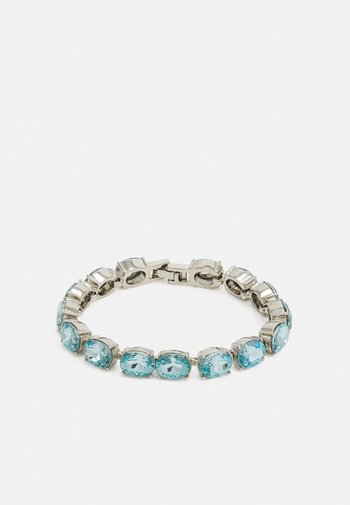 PCLAMA BRACELET - Bracelet - silver-coloured/blue