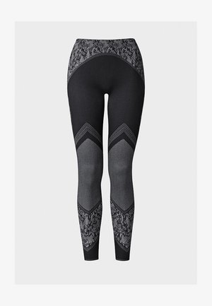 CAMERON - Leggings - black/white