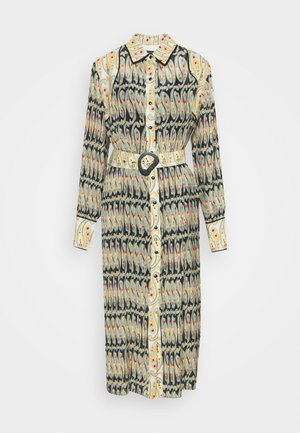 ARCHAIC DRESS - Shirt dress - ink/oyster
