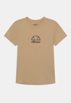 MARYAM UNISEX - T-Shirt print - light brown