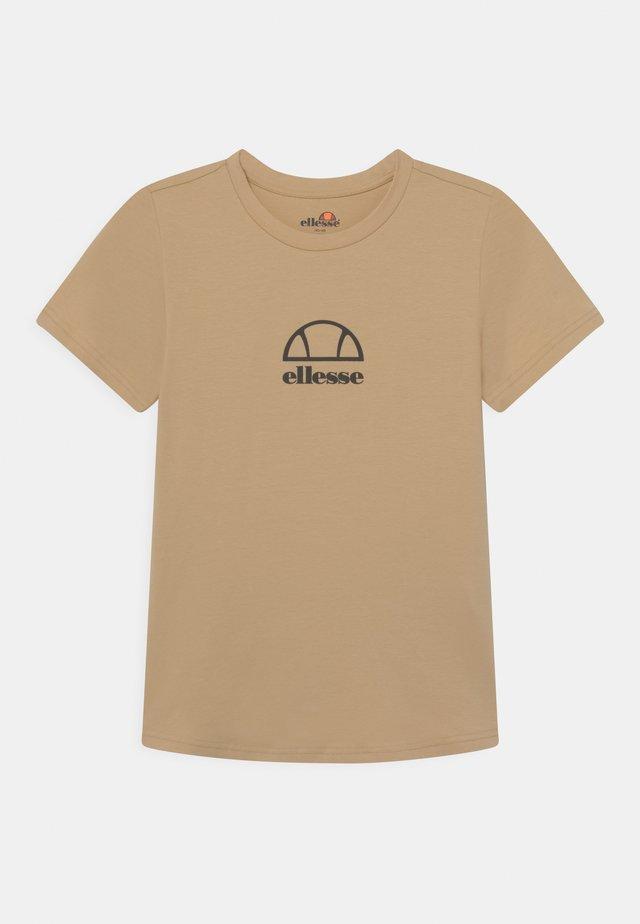 MARYAM UNISEX - T-shirt imprimé - light brown