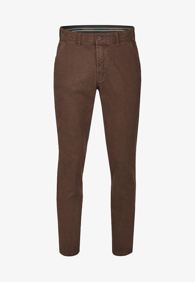 GARVEY - Slim fit jeans - brown