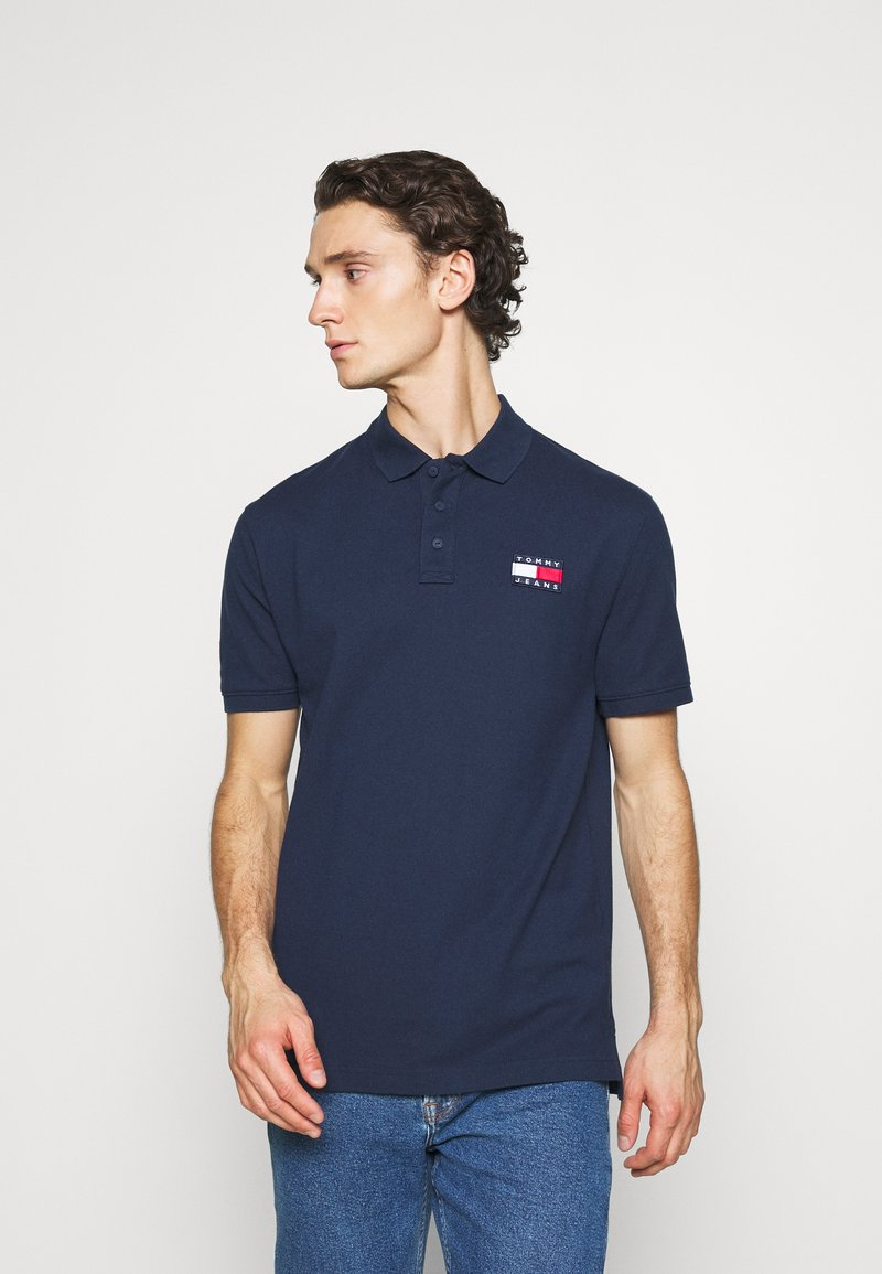 Tommy Jeans - BADGE - Polo shirt - twilight navy