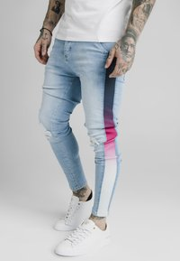 SIKSILK - Slim fit jeans - light blue - 3