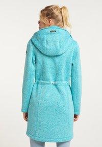 Schmuddelwedda - Short coat - türkis melange - 2
