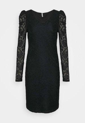 ONLPOULA DRESS - Shift dress - black