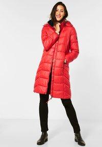 Street One - Winter coat - rot - 1