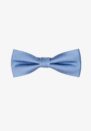 TEXTURED GROUND DOT BOW TIE - Motýlek - light blue