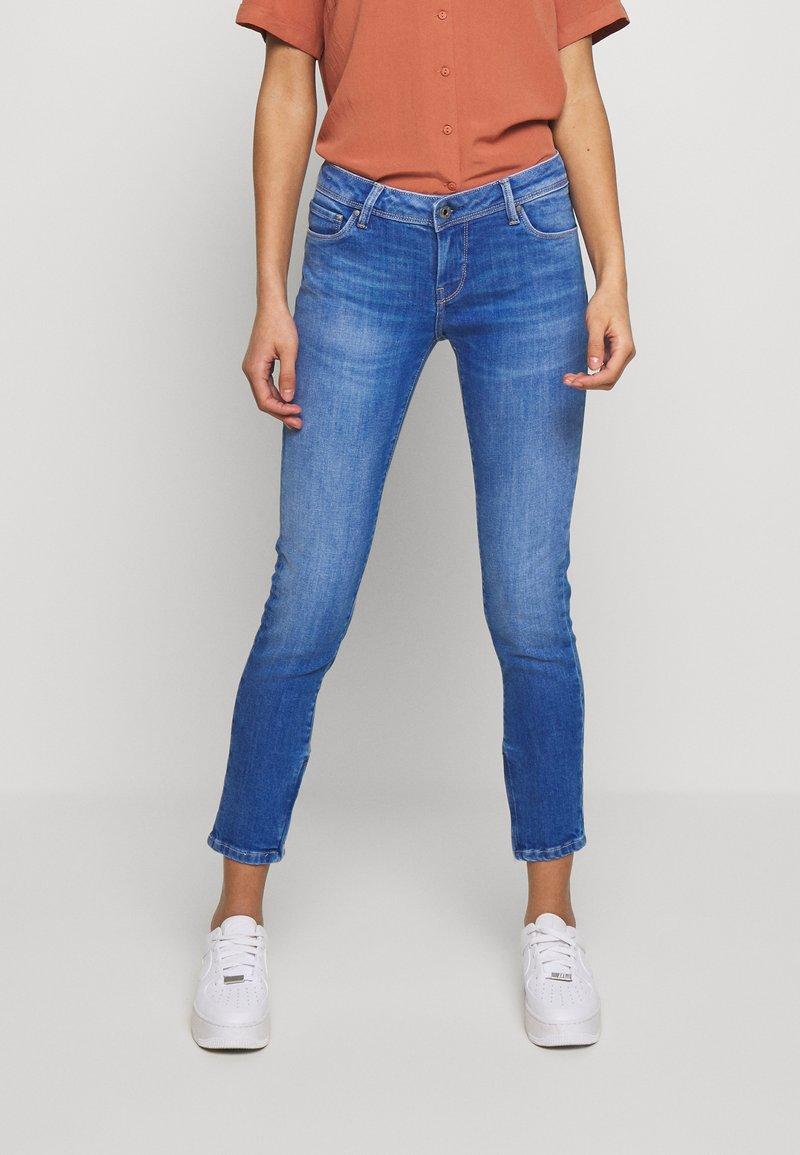 Pepe Jeans - Skinny džíny - light-blue denim