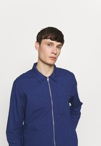 New Look - ZIP THRU SHACKET - Shirt - indigo - 3