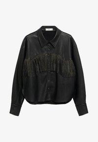 Mango - WESTERN - Button-down blouse - schwarz - 5