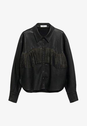 WESTERN - Button-down blouse - schwarz