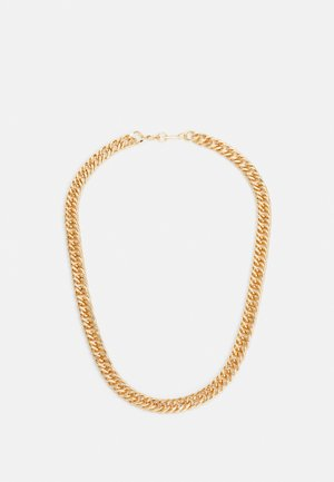 FLAT CHAIN NECKLACE - Collana - gold-coloured