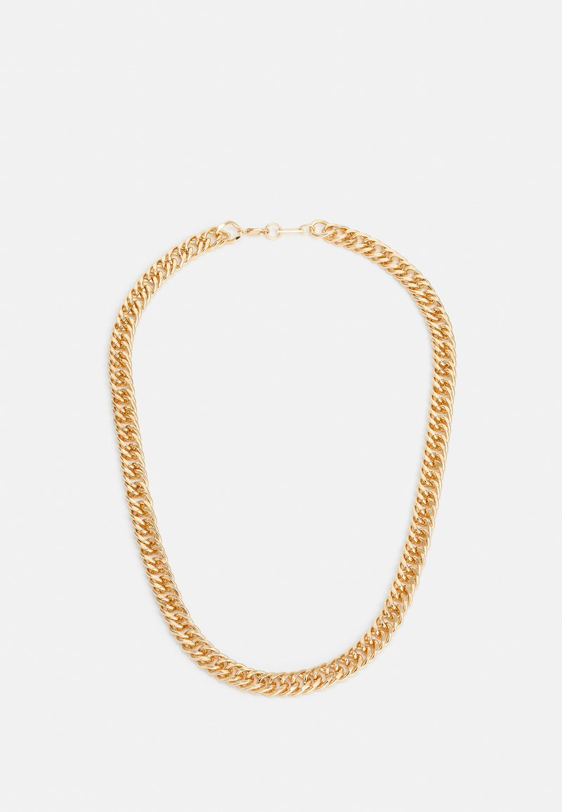 River Island - FLAT CHAIN NECKLACE - Collana - gold-coloured