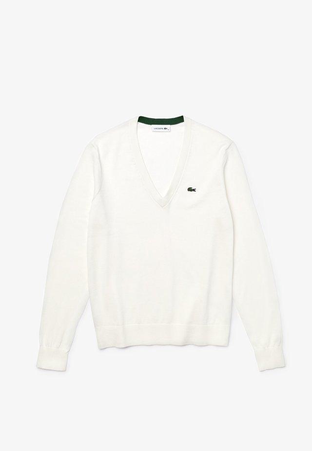 AF5475 - Collegepaita - blanc
