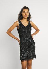 Molly Bracken - LADIES DRESS - Cocktail dress / Party dress - snake black - 0