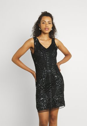LADIES DRESS - Cocktail dress / Party dress - snake black
