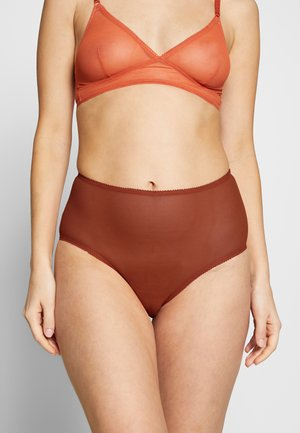 BIRGIT HIGH WAIST - Slip - orange dark