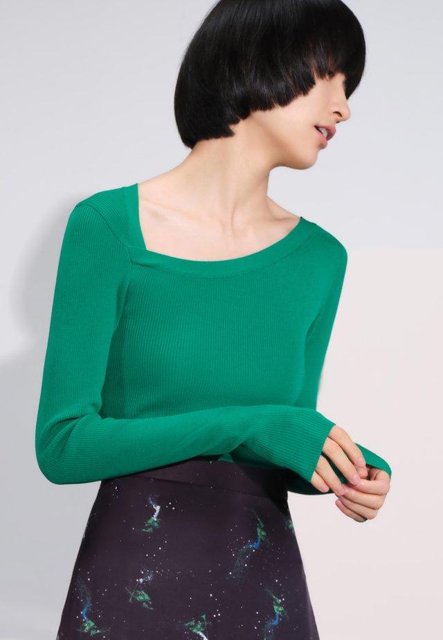 Jersey de punto - grass green