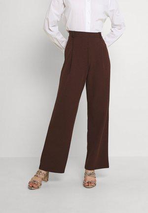 EVERYTHING PANTS - Bukse - brown