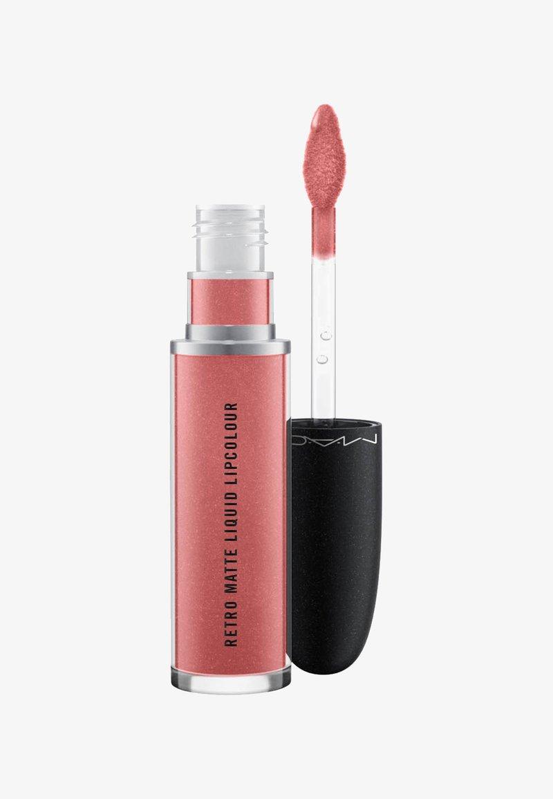 MAC - RETRO MATTE LIQUID LIPCOLOUR METALLICS - Liquid lipstick - gemz & roses