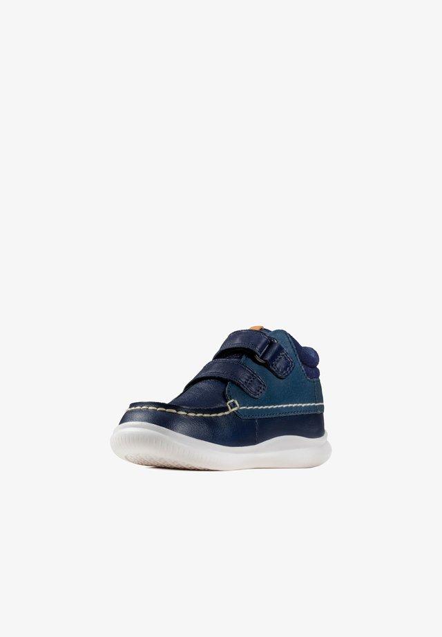 CREST TUKTU  - Classic ankle boots - dunkelblaues leder