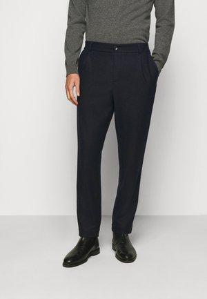 SMOKE - Trousers - dark navy