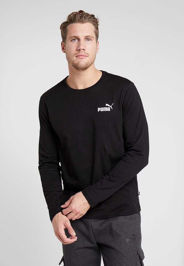 LOGO TEE - Maglietta a manica lunga - black
