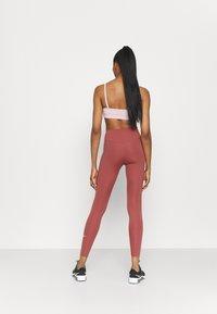 Nike Performance - ONE - Leggings - canyon rust/white - 2