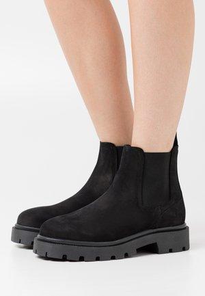 SLFEMMA CHELSEA BOOT  - Kotníkové boty - black