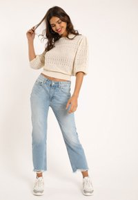 Pimkie - Straight leg jeans - ausgewaschenes blau - 0
