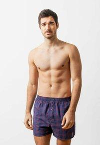 SNOCKS - WOVEN - 3 PACK - Boxer shorts - big check - 0