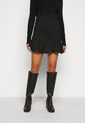 PCPATRICIA SMOCK SKIRT - A-line skirt - black