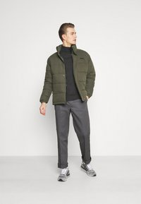 Schott - NEBRASKA - Winter jacket - military green - 1