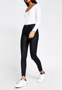 River Island - Long sleeved top - white - 1