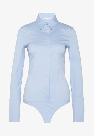 CARRY OVER - Button-down blouse - sky fil a fil