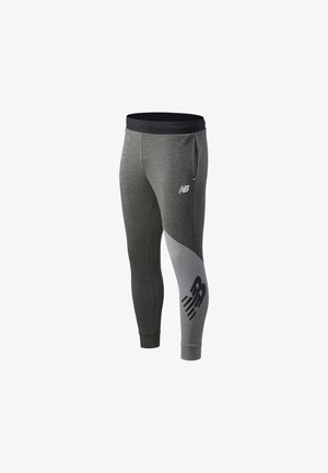 VELOCITY JOGGER - Tracksuit bottoms - heather charcoal